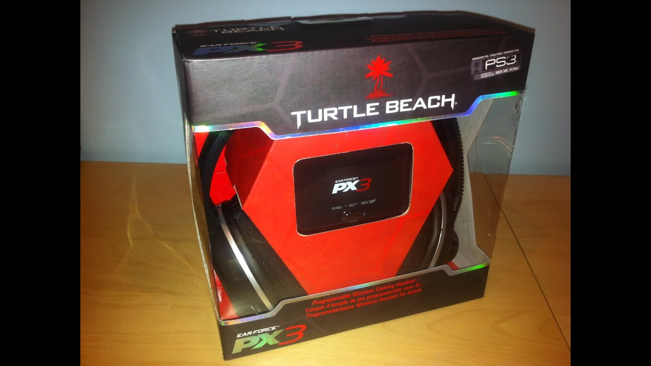06c2935d28d Turtle Beach Ear Force PX3 Gaming Headset Unboxing - YouTube