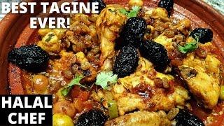 Moroccan Chicken Tagine - Tajine De Poulet