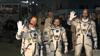 Launch of the Soyuz TMA-09M and dock at the International Space Station (ISS)