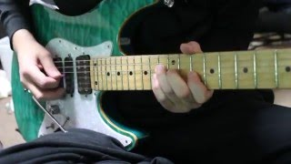 abstracts Aurora Guitar solo cover
