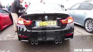 BMW M4 M-Performance engine sound