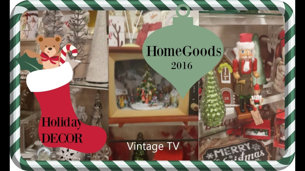 christmas decorations 2016 homegoods youtube
