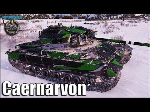 Взял Колобанова ВНИЗУ списка WOT ✅ Caernarvon лучший бой ТТ-8