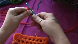 "How To Crochet A ""trellis"" Pattern"