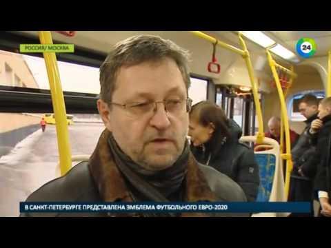 Электробусы перевезли первых пассажиров в Москве - МИР24