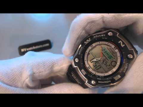 Men's Casio Sport Fishing Gear Thermometer Watch AQW101 1AV