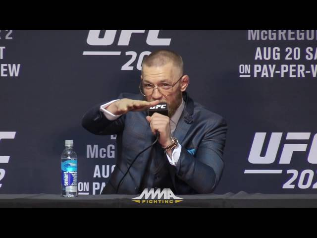 UFC 202 Post-Fight Press Conference: Conor McGregor