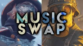 Battlefield 1 Tsar DLC Music vs Call of Duty WW2 Music (Songs Swapped)