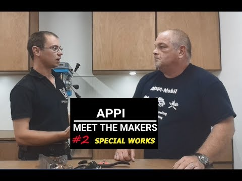 APPI - MEET THE MAKERS    #2 SPECIAL WORKS