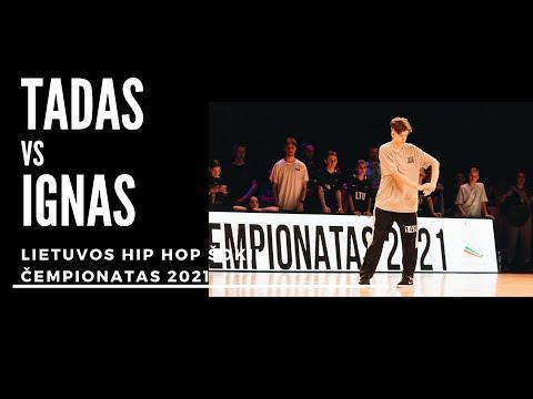Lietuvos Hip Hop čempionatas 2021 | Juniors Solo Finalas Tadas x Ignas