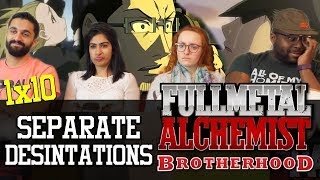 Fullmetal Alchemist: Brotherhood - 1x10 Separate Destinations - Group Reaction
