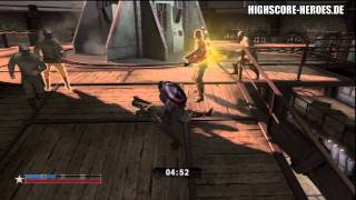 Captain America: Super Soldier - Baron von Strucker Boss Fight (HD)