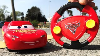 Disney Pixar Cars 3, RC Car Lightning MCQUEEN - Max Speed 3 Km/h! :))