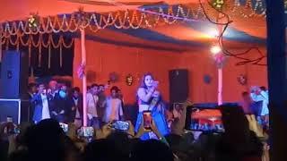 Kajal raghwani stage so Salempur