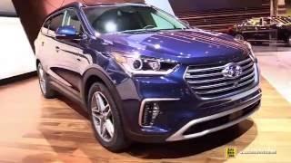 Xe Oto Hyundai Santafe 2017, 2018 - Gia xe Hyundai Santafe 2017 mới nhất