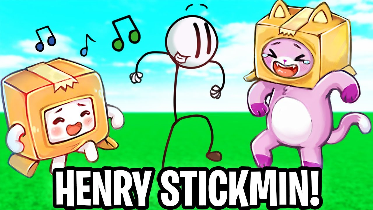 Can FOXY & BOXY Beat HENRY STICKMIN?! (FUNNIEST GAME EVER!)