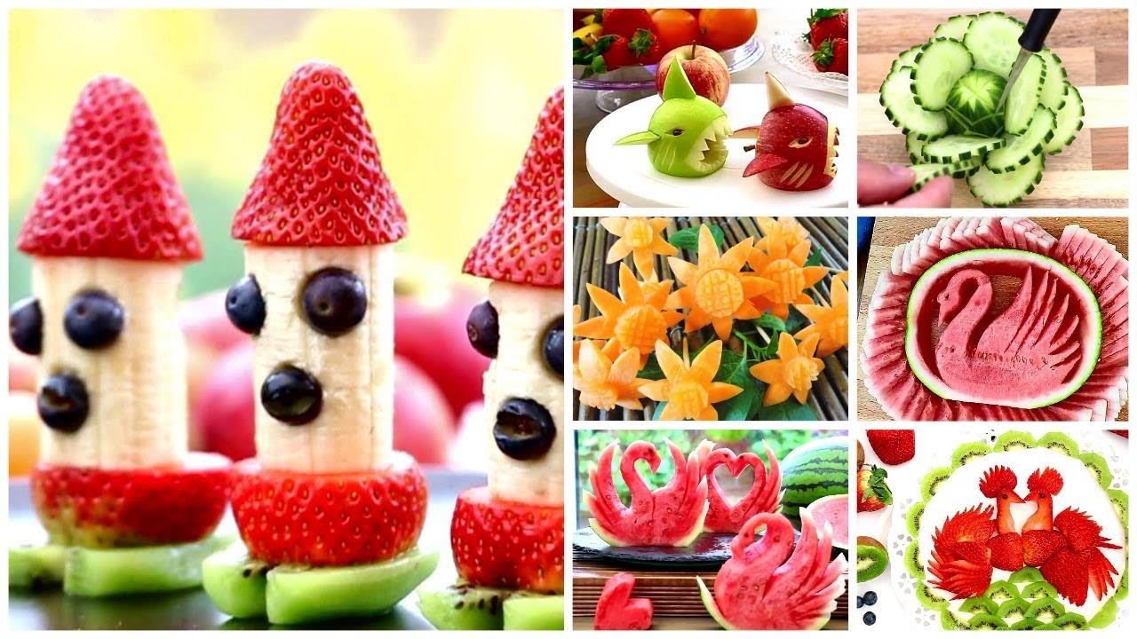 Creative Fruit Food Art Ideas and Cutting Tricks