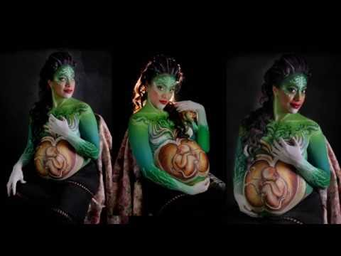 BELLY PAINT, Body Art Team. BABY DAVINCI