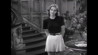 Humphrey Bogart flirts with young ingénue in The Big Sleep