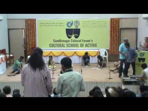 Cultural School of Acting:- Gandhinagar Cultural Forum