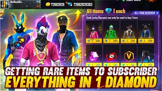 Got Everything In 1💎Diamond To My Subscriber Account 😍 Buying 30,000 Diamonds - Garena Free Fire
