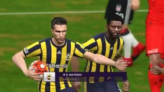 #Pes 2017 Beşiktaş Fenerbahçe Maçı Türkçe Spikerli