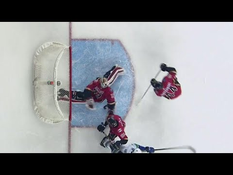 Gotta See It: Flames' Gillies makes spinning behind-the-back glove save