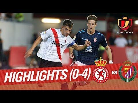 Resumen de Cultural Leonesa vs Real Valladolid (0-4)
