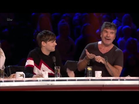 Simon Cowell and Louis Tomlinson moments the X factor UK part 1
