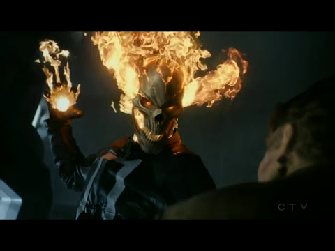 Agent Of Shield 4x02 Ghost Rider Kills Ghost Youtube