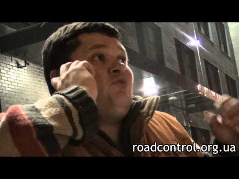 Адвокат ДК Смалий показал ГАИ фокус | Киев 14.10.2013