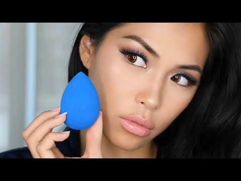 Beautyblender SAPPHIRE Quick Review & Tutorial