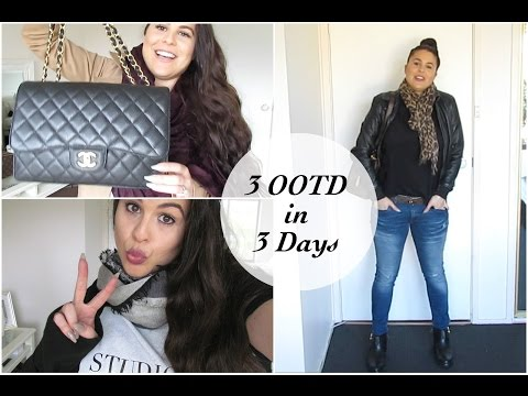 3 OOTD in 3 Days!!