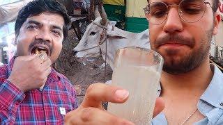 KAZIK!! Hindistan'da İlk Gün, İLGİNÇ Sokak Yemekleri ve Yaşam (Delhi VLOG)