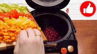 Когда нет времени сложила все в мультиварку и готово Обед или ужин из самых простых продуктов