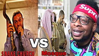 CATHOLIC REACTS TO Satanic Place of Worship Vs Inside a Mosque