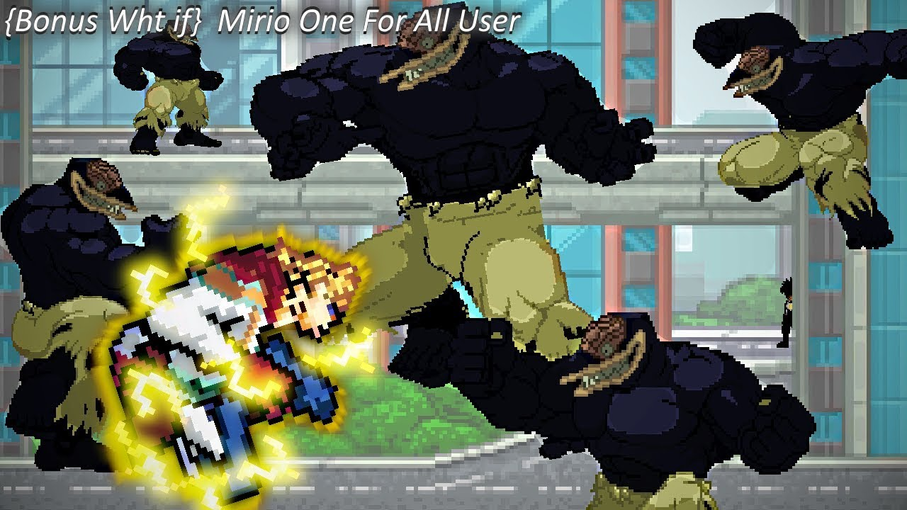 [BONUS What If]  Mirio One For All  User (Sprite animation)