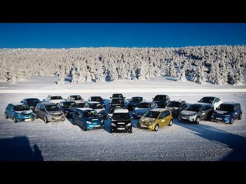 Norwegian Automobile Federation tests 20 popular EVs in winter conditions