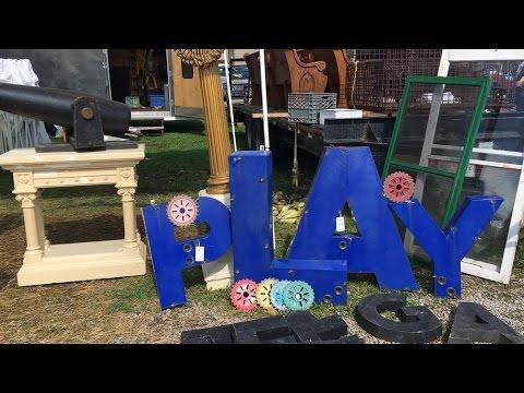 Springfield Extravaganza Antiques & Flea Market: Shopping & Haul!!!