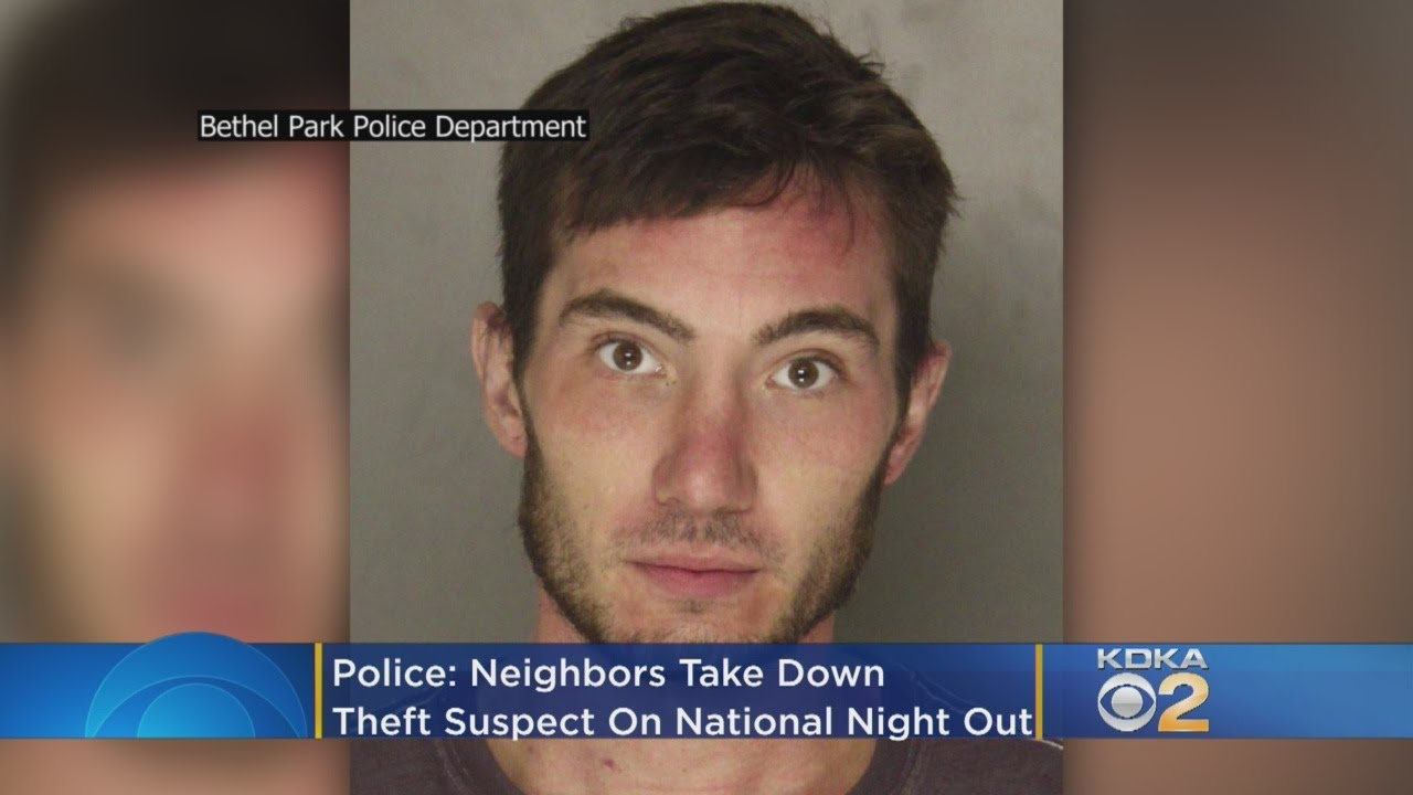 Police: Neighbors Take Down Theft Suspect On National Night Out