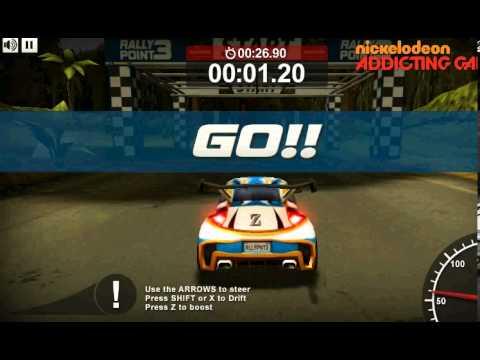 Rally Point 3 Game Play การเล่นเกมส์แข่งรถแรลลี่ 3