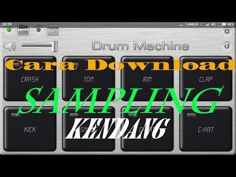 Cara download sampling kendang Drum MACHINE