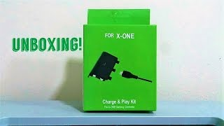 UNBOXING - Charge & Play Kit(Carregador Xbox One)