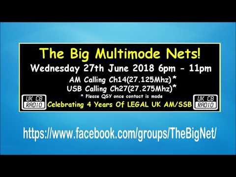 CB Radio - The Big Net 2018