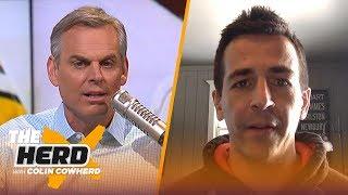 Albert Breer talks Raiders' interest in AB, Kyler Murray's draft stock & OBJ rumors   NFL   THE HERD