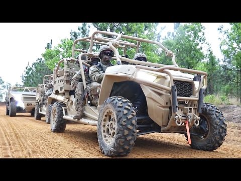 '21ST CENTURY JEEP': Army Paratroopers Try New DAGOR & MRZR-D Battlefield Vehicles