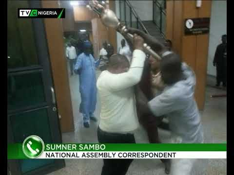 Sumner Sambo speaks on invasion of Senate Plenary by hoodlums