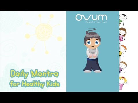 Daily Mantra for Healthy Kids - Jingle