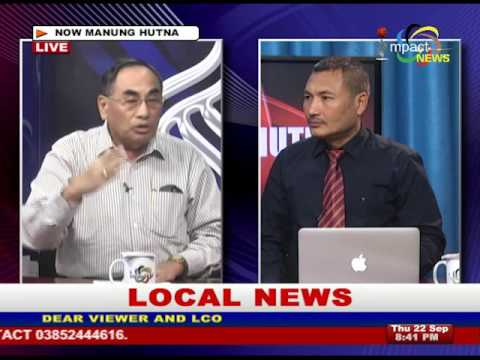 Discussion on political parties complaint to CEC against mass recruitment : Manung Hutna 22 Sep 2016