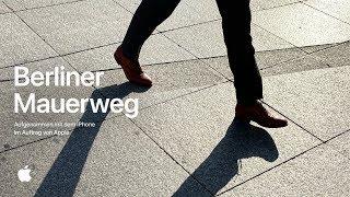 Aufgenommen mit dem iPhone 11 Pro – Berliner Mauerweg – Apple